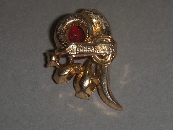 TRIFARI Earrings (221) of ruby cabochon earrings,… - image 5