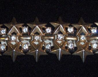 Bracelet Star (22), signed TRIFARI, vintage 1950's