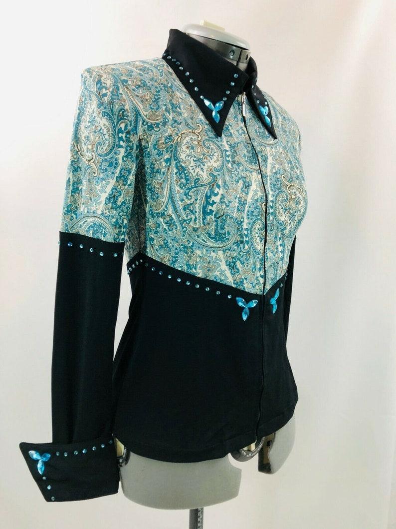 Western Show Pleasure Rail Shirt Jacket Clothes Showmanship Horsemanship Equilong