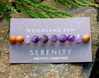 Wood & Crystal Bracelets