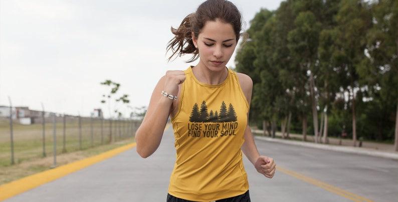 Workout Womens Kundalini Yoga Top Funny Boho Yoga Shirt image 0