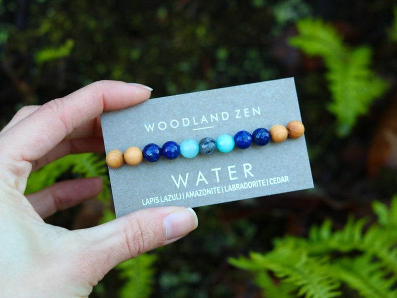Handmade Yoga Gemstone Bracelet for Women Metaphysical image 0