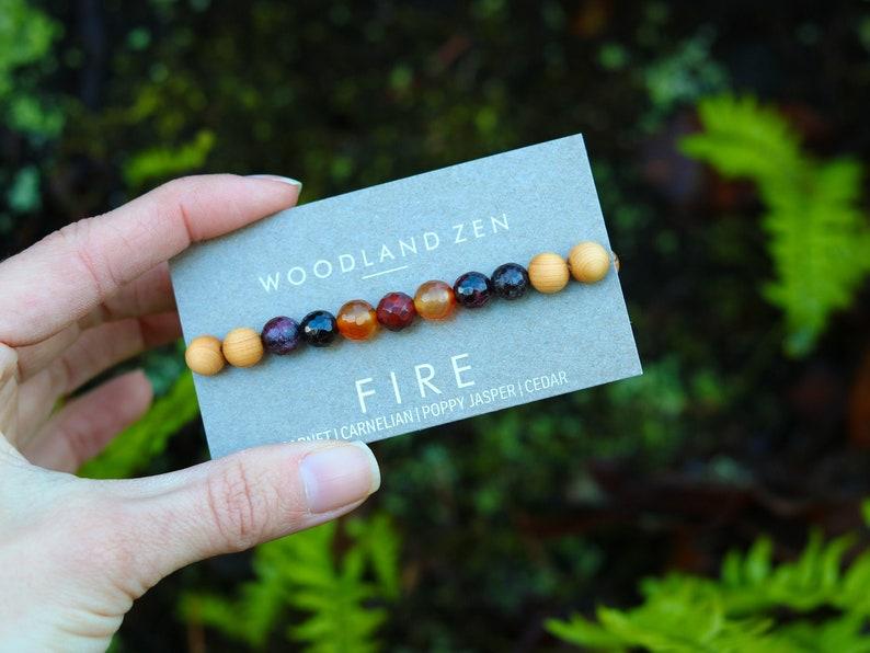 Root Chakra Yoga Jewelry Healing Spiritual Jewelry Gemstone image 0