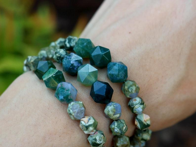 Woodland Jewelry Nature Bracelet Crystal Stone Energy image 0