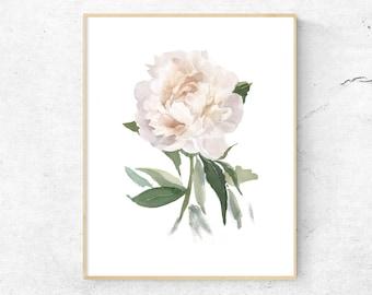 Flower Print Etsy