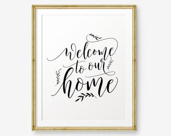 welcome to our home etsy rh etsy com welcome to our house album welcome to our house album