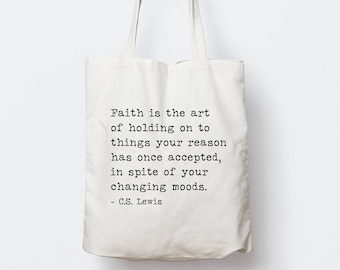 f9372290671f Personalized Inspirational Quote Tote Bag