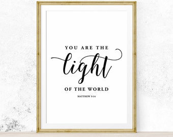 Light Of The World Etsy
