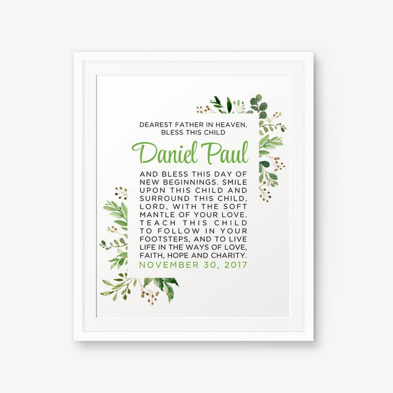 photograph relating to Printable Irish Blessing identified as Irish Blessing Custom made Printable, Boy Baptism Present, Woman Baptism Present, Irish Blessing, Irish Prayer. Irish Baptism