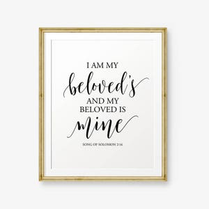 Bible Verses Printable And The Two Shall Become One Etsy