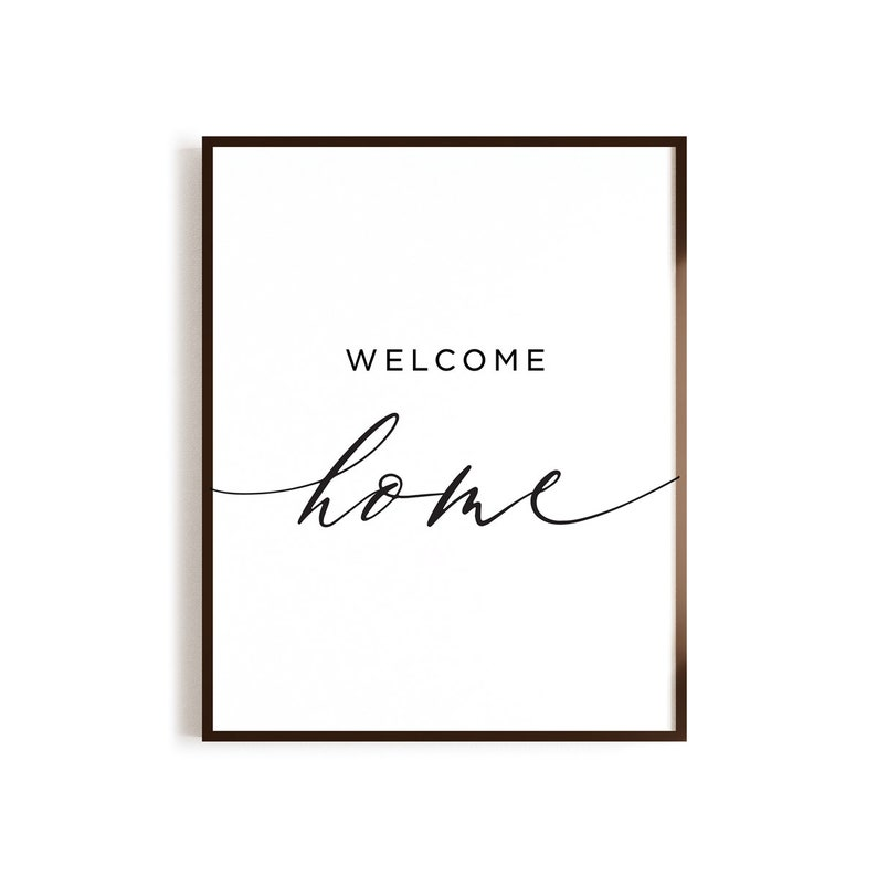 graphic relating to Welcome Home Sign Printable identified as Welcome Residence Printable, Welcome Property indicator, property decor, Housewarming Reward, Residing Space decor, Scandinavian Poster, welcome house decor