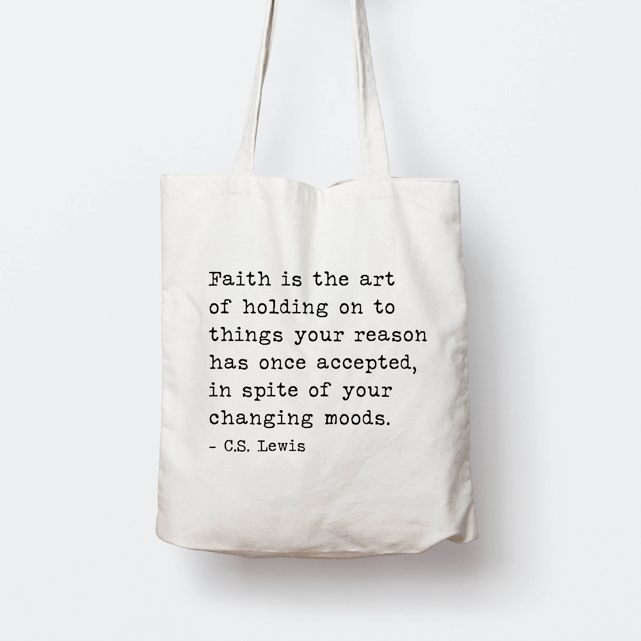 a4e327bf4a51 Personalized Inspirational Quote Tote Bag, Custom song lyrics Tote Bag,  Personalized Bible verse Tote Bag, Typography tote bag, gift
