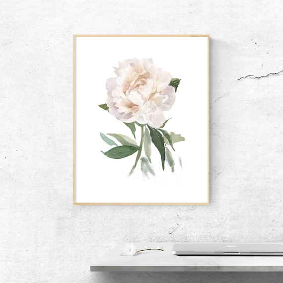 personalized gifts Printable Poster gift for her Instant Download,best friend gifts Digital Download Wall Art Print White Flower Photo