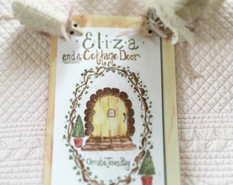 Eliza and a Cottage Door