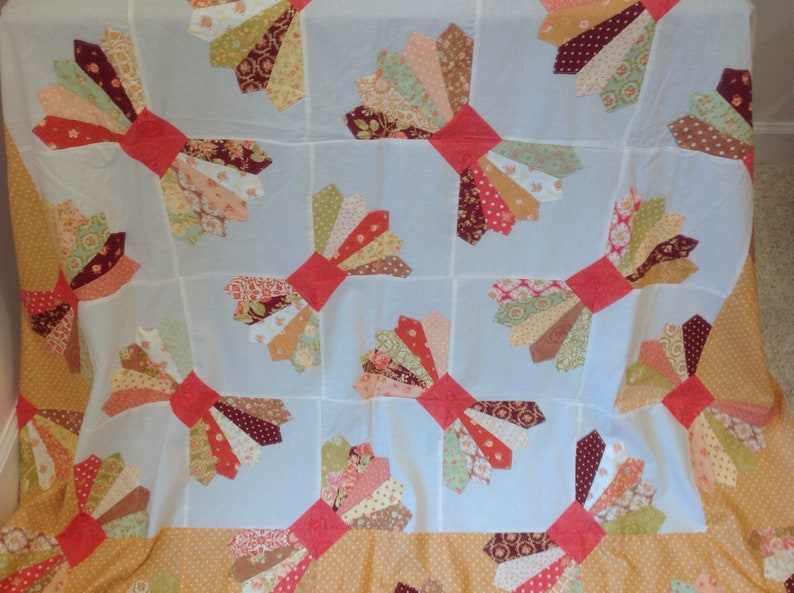 Candy Dish quilt top