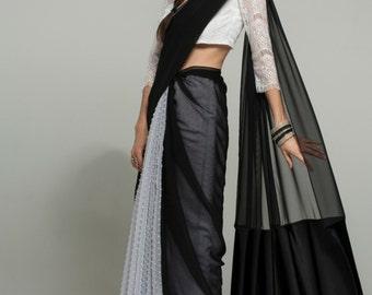 Jane E. Gray/Black Sari