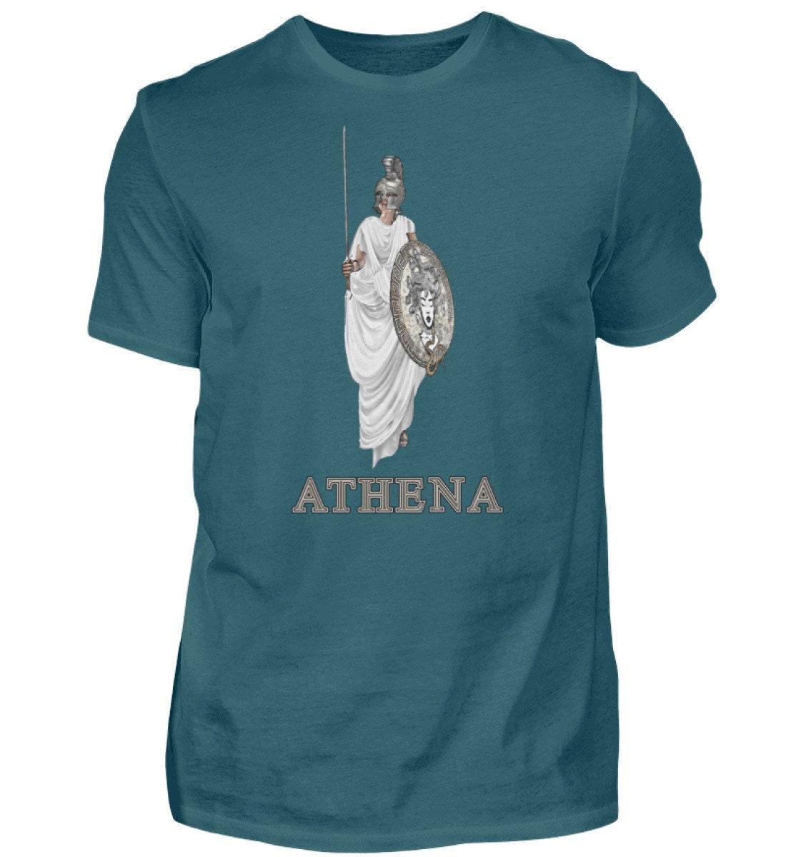 Griechische Mythologie Athena Männer Shirt | Etsy
