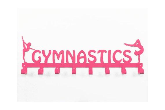 Personalized Gymnastics Medal Hooks | Gymnastics Medal Display| Gift for Gymnast | Gymnastics Accessories | Custom Gymnastics GIft