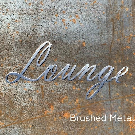 Bar Sign | Lounge Sign | Bar Decor | Coffee Shop Decor| Speakeasy Decor | Metal Sign