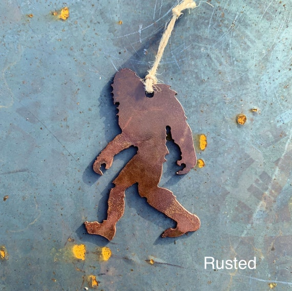 Big Foot Christmas Ornament | Yeti Ornament | Sasquatch Ornament | Unique Christmas Ornament