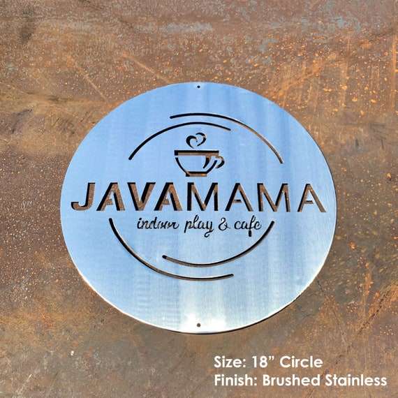 Custom Logo Sign | Custom Metal Business Sign | Your Metal Logo or Artwork