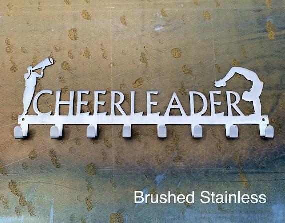 Male Cheerleader Medal Display | Gift For Male Cheerleader |  Cheer Accessories | Gift for boys | Medal Hooks | Medal Hanger