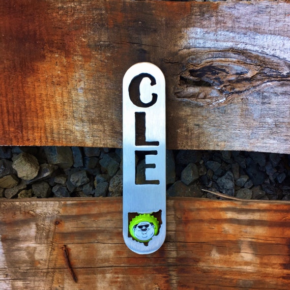Cleveland Bottle Opener | Stocking Stuffer | Novelty Gift | Cleveland Gift