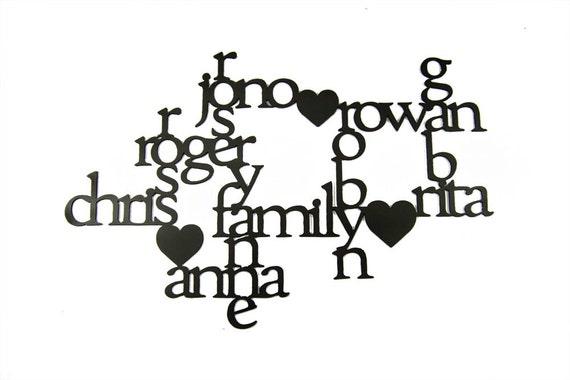 Custom Family Crossword