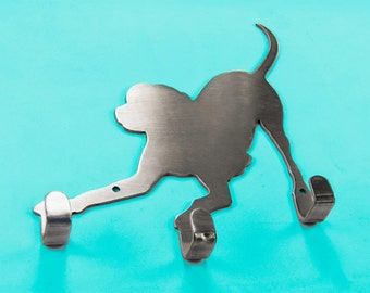 Playful Dog Leash Holder
