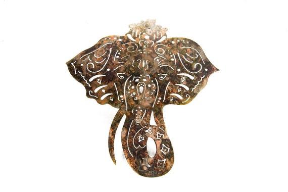 Elephant Wall Art | Elephant Decor | Elephant Nursery Decor | Indian Elephant | Elephant Gift