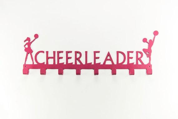 Cheerleading Medal Display | Cheerleader Gifts |  Cheer Accessories | Gift for girls | Medal Hooks | Medal Hanger