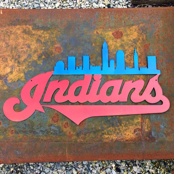 Cleveland Indians Skyline