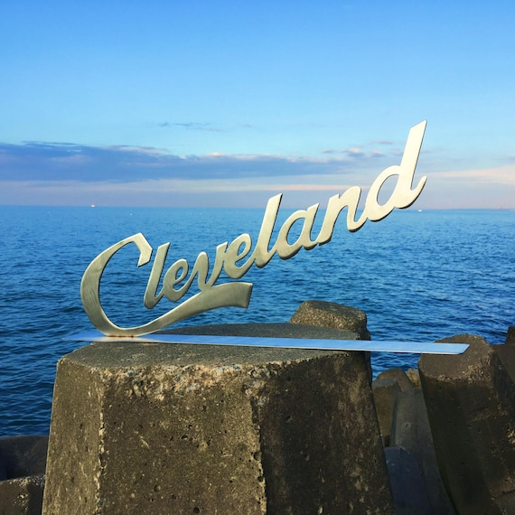 Cleveland Script Stand- Stainless Steel