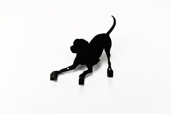 Dog Leash Holder | Leash Hanger | Leash Hooks | Dog Decor | Pet Supplies | Gift for Dog Owner | Labrador Retriever | Pit Bull