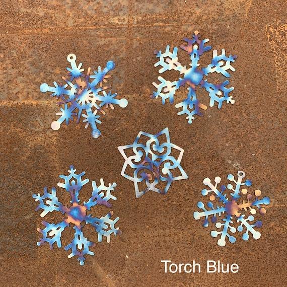 Metal Snowflake Set | Christmas Decoration | Outdoor Christmas Decoration | Winter Decor | Stainless Steel