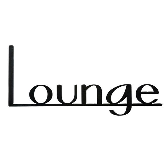 Bar Sign | Lounge Sign | Bar Decor | Coffee Shop Decor| Speakeasy Decor | Metal Sign