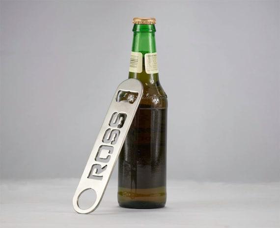 Custom Bottle Opener | Stocking Stuffer | Stainless Steel Bottle Opener |  Groomsmen Gift | 21st Birthday Gift |  Monogrammed Gift