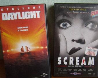 Daylight and Scream (VHS) 1996, French language