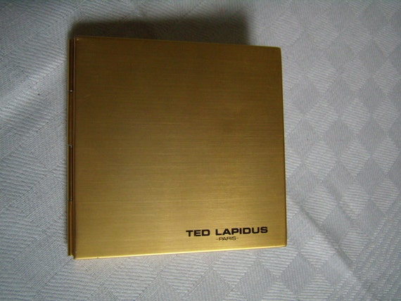 ted lapidus paris mini r pertoire t l phonique coffret m tal etsy. Black Bedroom Furniture Sets. Home Design Ideas