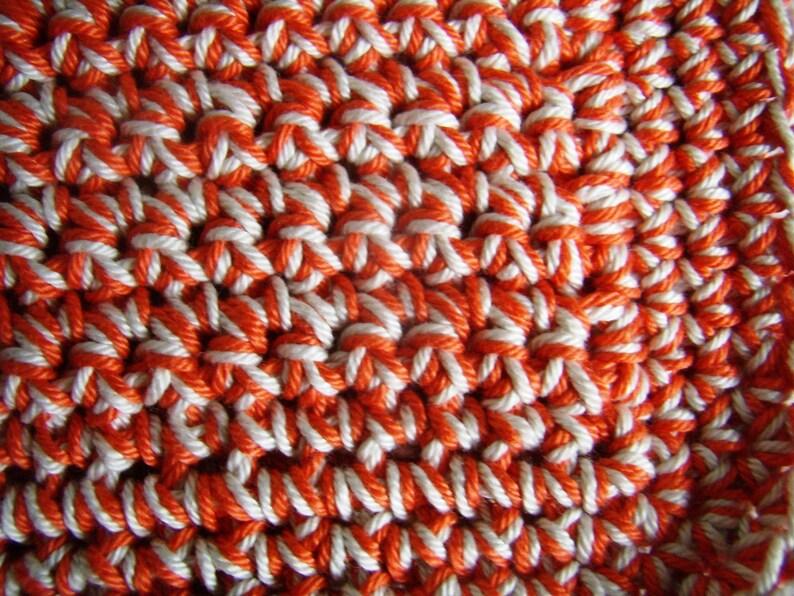 crochet 2 verrtyellow cotton potholders handmade underneath dish cloth