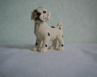 Figurine, Dalmatian ceramic dog, collection