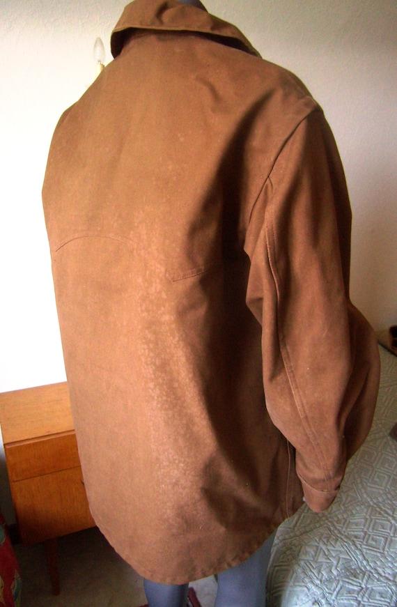années 1960, français veste conducteur travail imperméable brun,veste  conducteur veste de train, ... debbe9f0a978