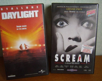 Daylight and Scream (VHS) 1996, French