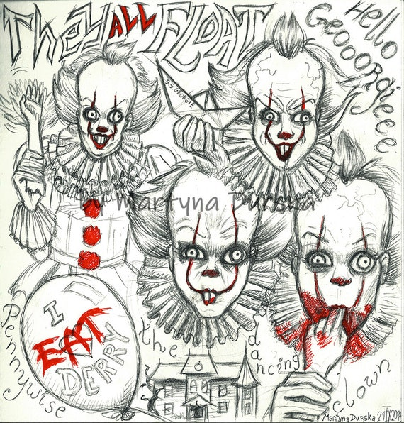 Pennywise Original Drawing