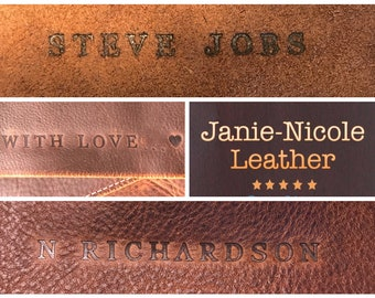 Customize Your Leather Products!