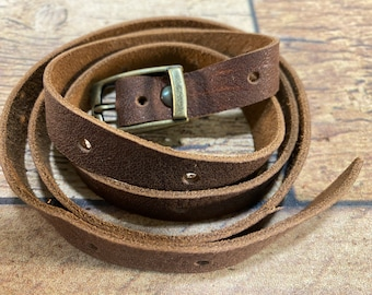 Adjustable Wrist Wrap - Kodiak Leather