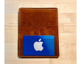 Card Holder - Brown Kodiak Leather