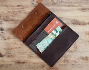 Wallet - Brown Kodiak Leather