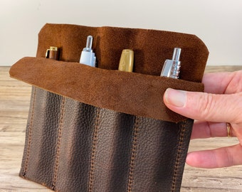 Kodiak Leather Pen Sleeve