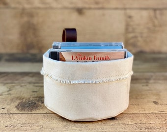 Small  Canvas Storage Basket   Canvas Container